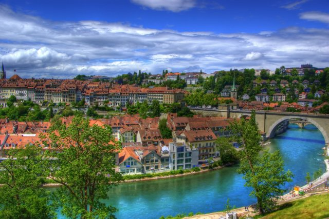 Город Берн, Швейцария