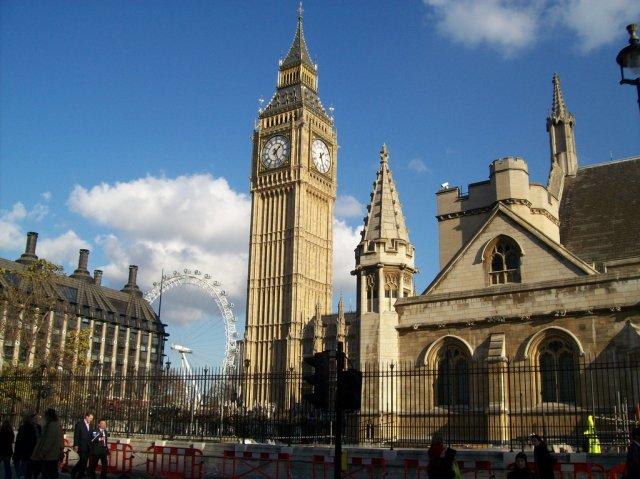 Биг-Бен, Лондон, Великобритания