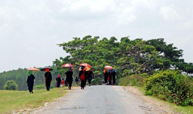 Девушки племени Па О - экзотика на каждом шагу, Мьянма