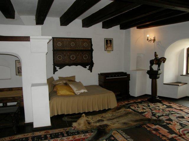 Обстановка замка Бран, Румыния