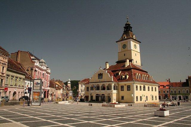 Центр города Брасов, Румыния