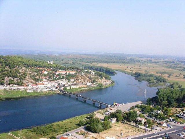 Река Буна (Бояна), Албания