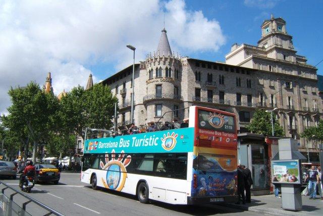 Туристический автобус, Барселона, Испания