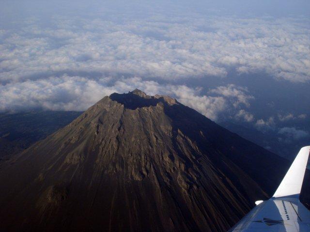 Вулкан в Кабо-Верде