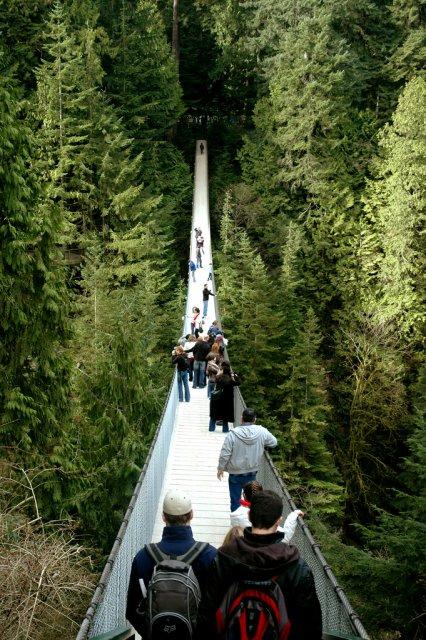 Висячий мост Капилано, Канада