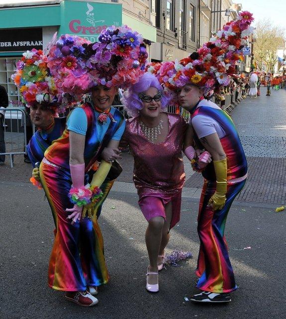 Карнавал в небольшом городе Бреда, Нидерланды
