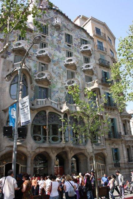 Дом Бальо в Барселоне, Испания