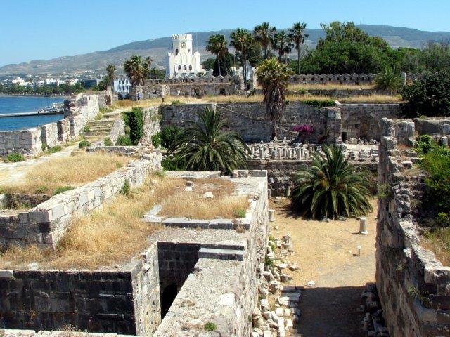 Крепость на острове Кос, Греция