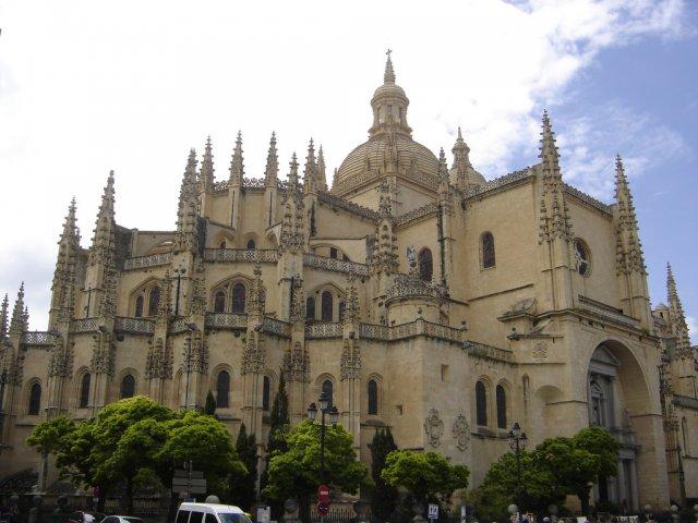 Кафедральный Собор Сеговии в Испании