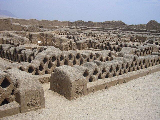 Древний город Чан-Чан, Перу
