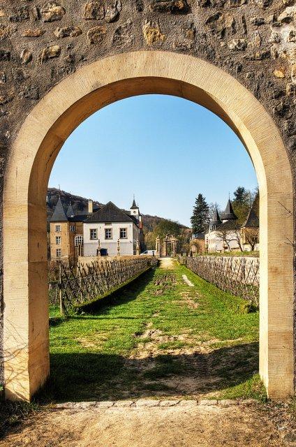 Старый замок в Люксембурге