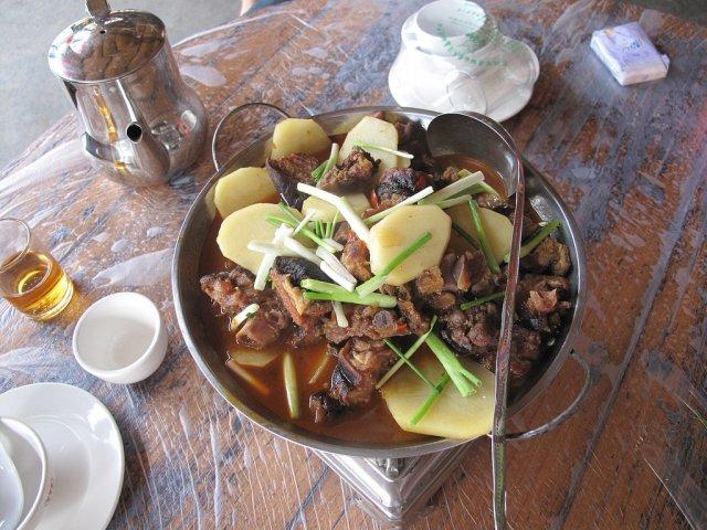 Блюдо китайской кухни, Ухань, Китай