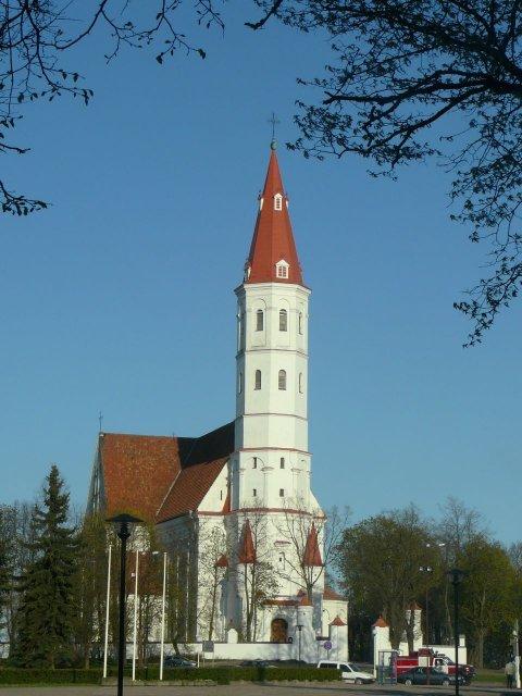 Церковь в городе Шяуляй, Литва