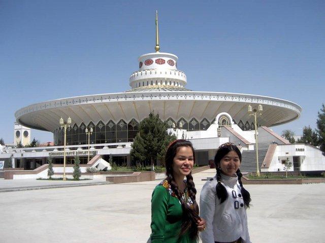 Цирк в Ашхабаде, Туркменистан