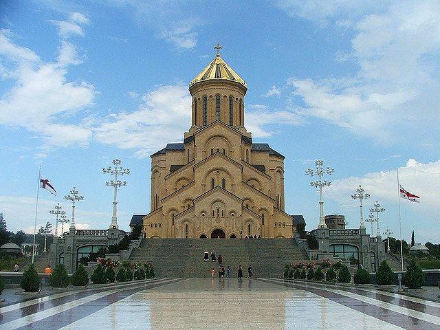 Цминда Самеба - Собор Святой Троицы в Тбилиси, Грузия