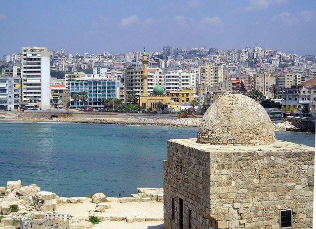 Побережье города Сайда (Сидон), Ливан