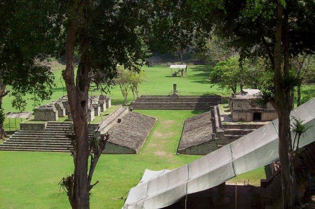 Руины древнего города майя Копан, Гондурас