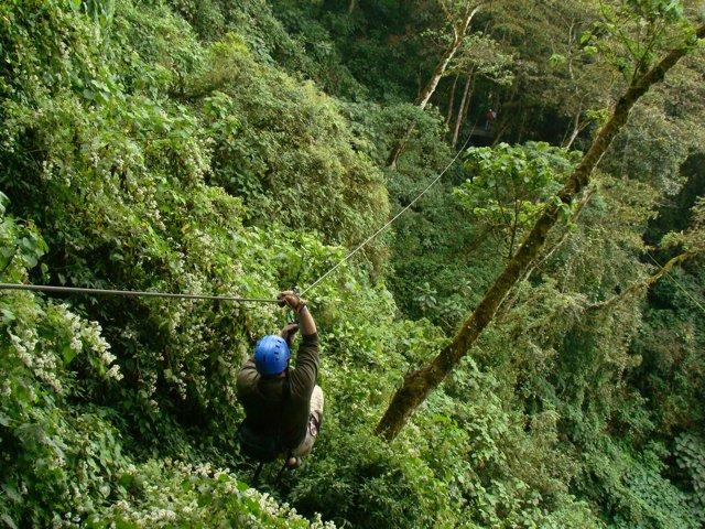 Канатный тур Коста-Рики