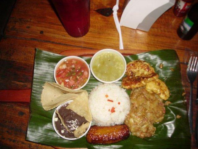 Обед в Коста-Рике
