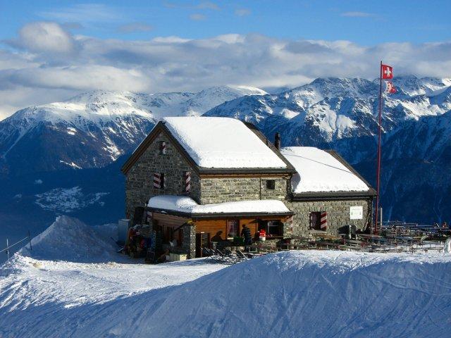 Горнолыжный курорт Кран-Монтана, Швейцария