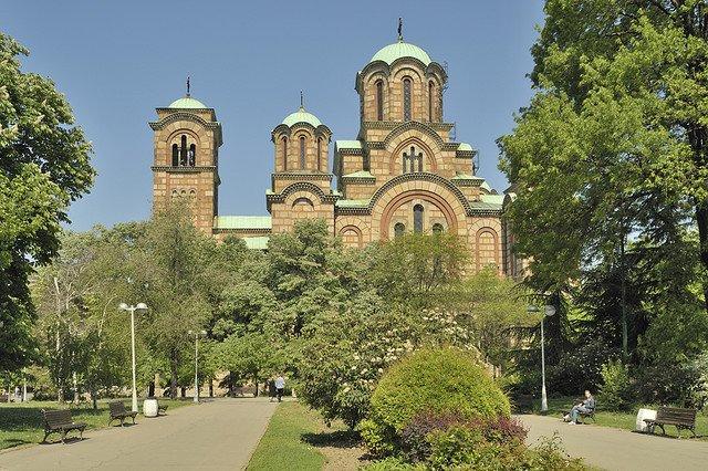 Церковь св. Марка, Белград, Сербия