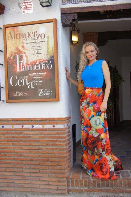 Ресторан и фламенко-шоу Jardines de Zoraya. Гранада, Испания. Май, 2012