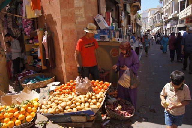 Рынок Танжера, Марокко