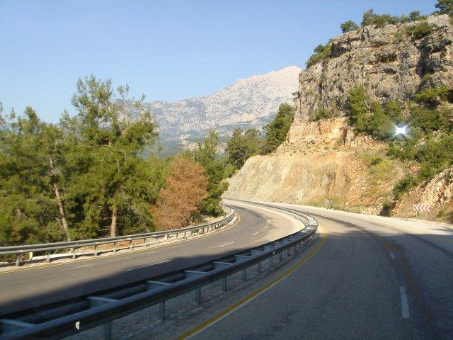 Дорога в Кемер, Турция