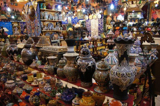 Сувенирный магазин Танжера, Марокко