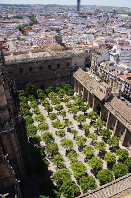 Вид с Кафедрального собора, Севилья, Испания
