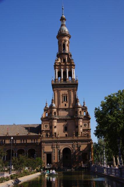 Башня Площади Испании в Севилье