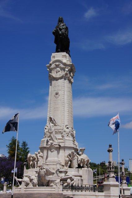 Памятник Маркизу де Помбала, Лиссабон, Португалия