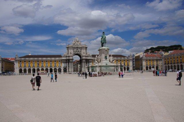 Торговая Площадь, Лиссабон, Португалия