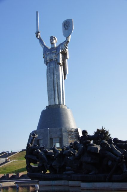 """Монумент """"Родина-мать"""", Киев"""