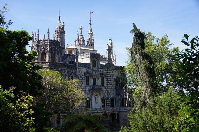 Дворцово-парковый комплекс Кинта-да-Регалейра, Синтра, Португалия