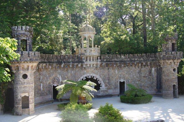 Парк Кинта-да-Регалейра, Синтра, Португалия