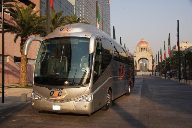 Экскурсионный автобус, Мексика