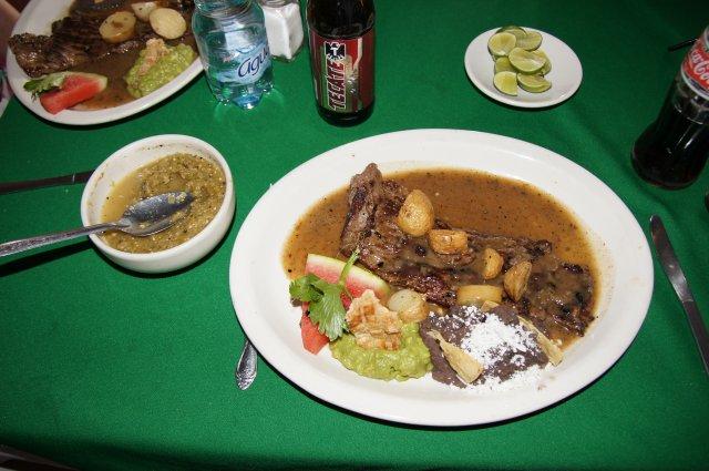 Мексиканское блюдо Arrachera