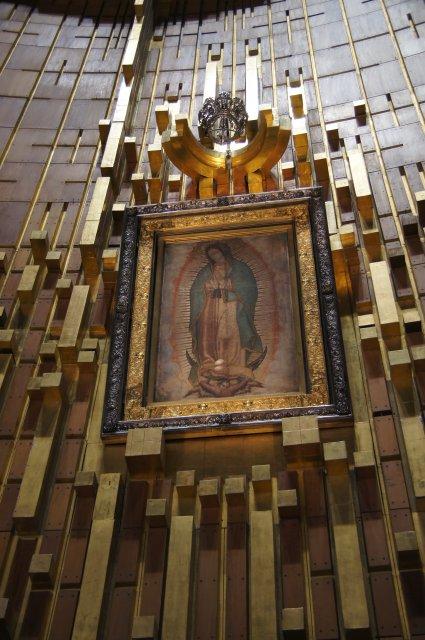 Изображение Богородицы, Церковь Девы Марии Гваделупской, Мехико