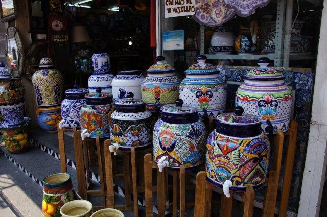Керамика Пуэблы, Мексика