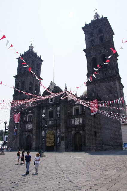 Кафедральный Собор в Пуэбле, Мексика