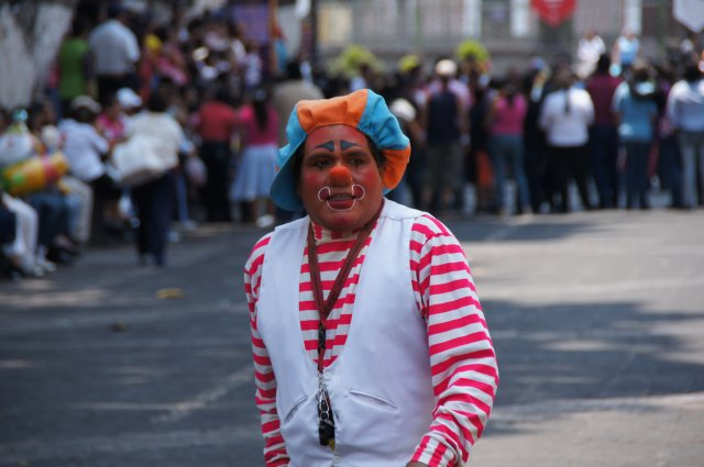 Мексиканский клоун, Пуэбла