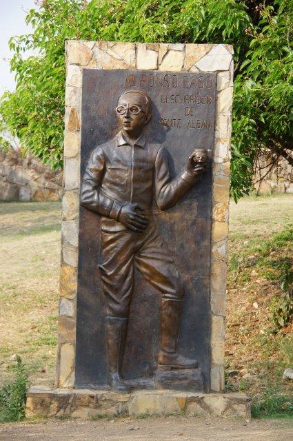 Памятник Альфонсо Касо, Монте-Альбан, Мексика