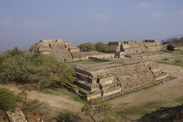 Древний город Монте-Альбан, Оахака, Мексика