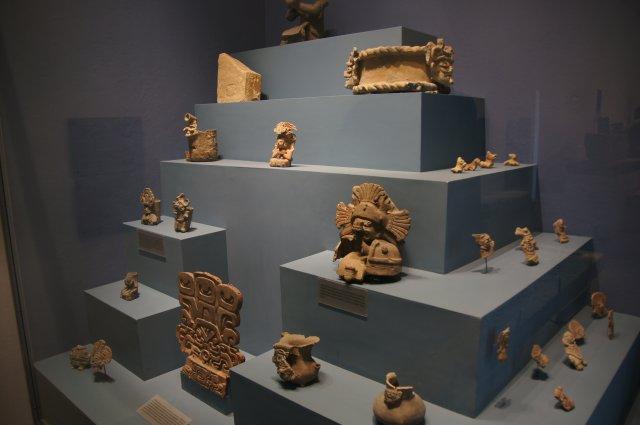 Музей в Монте-Альбане, Мексика
