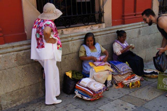 Местные жители Оахаки, Мексика