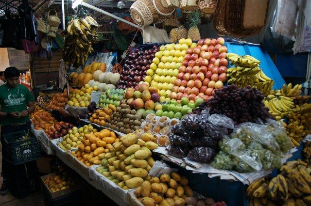 Рынок в Оахаке, Мексика