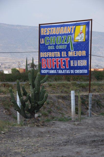 Ресторан La Choza, Оахака, Мексика