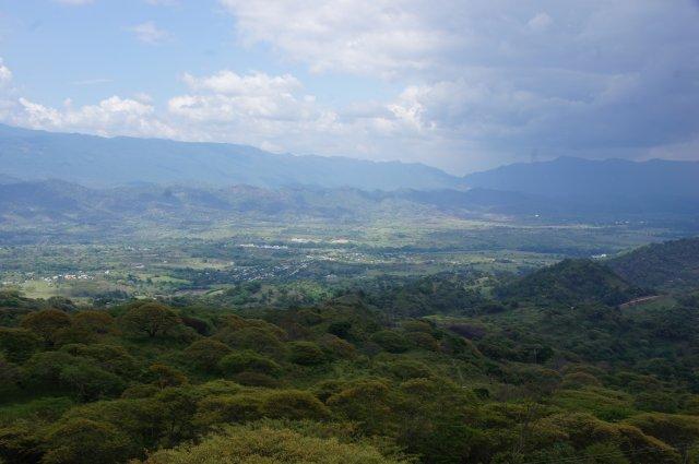 Вид с обзорной площадки ресторана Selva Maya, Мексика