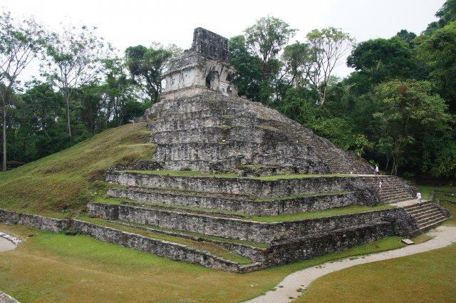 Храм Креста, Паленке, Мексика
